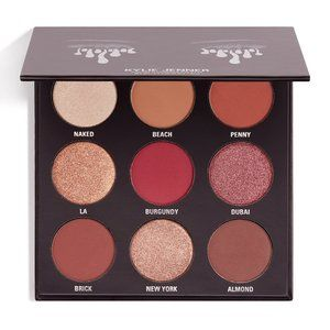 The Burgundy Palette Kyshadow